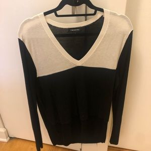 Trouve black and white sweater